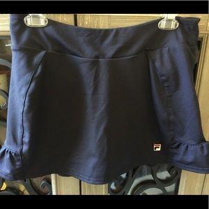 Authentic FILA Tennis 🎾 Skirt w/Under Short